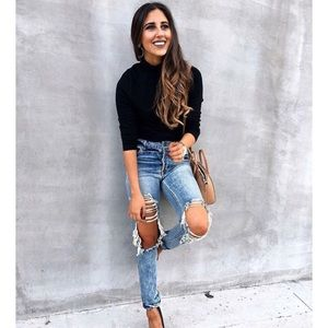 AFRM Ripped Jeans